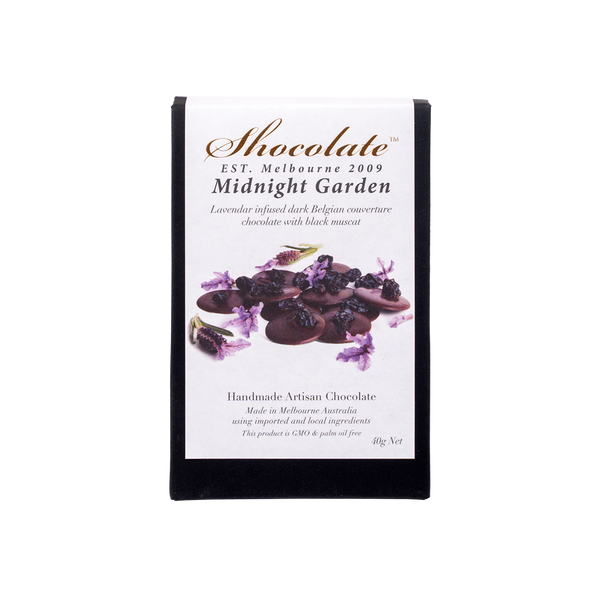 Botanicals Lavender & Muscat Dark Chocolate