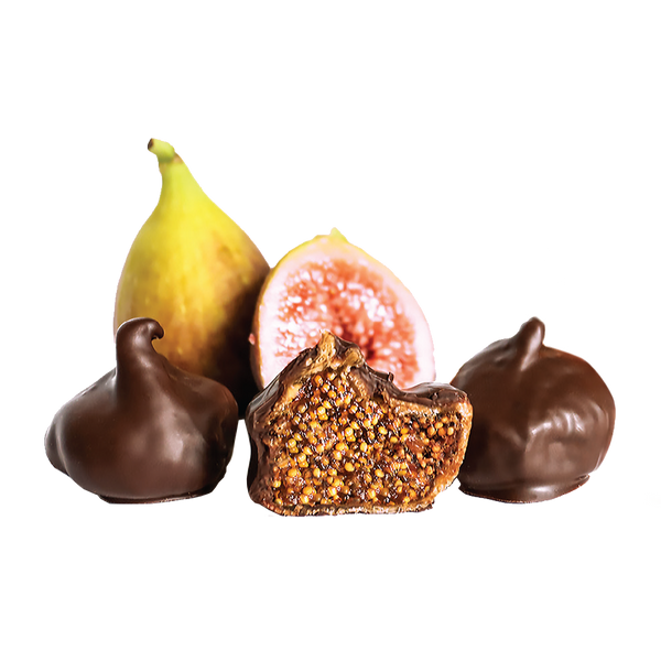 Figs Coated In Dark Chocolate