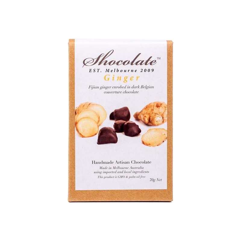 Fijian Ginger In Dark Chocolate