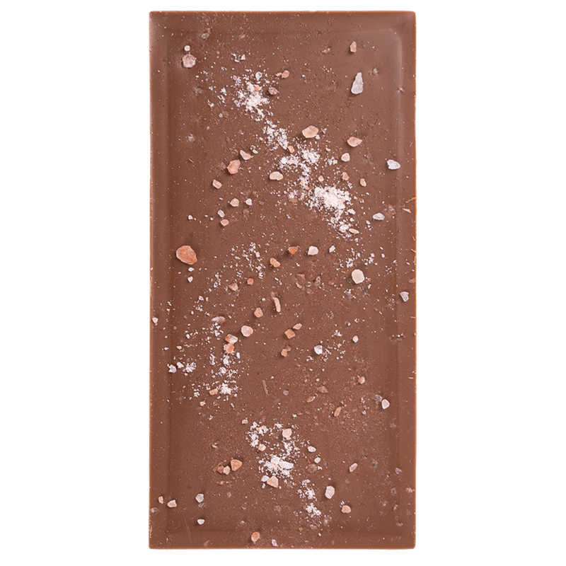 Milk Chocolate Himalayan Salt Block