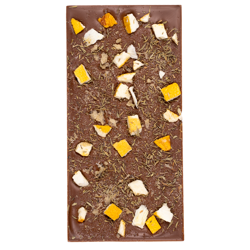 Milk Chocolate Zesty Manuka Block