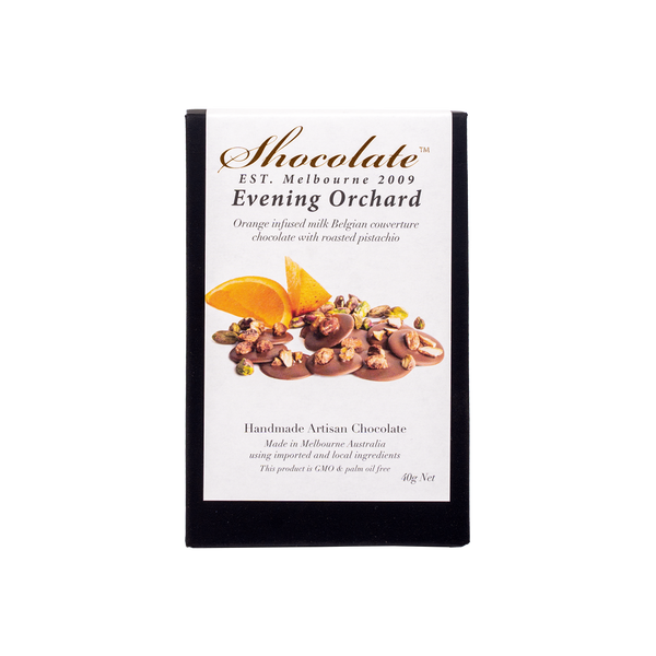 Botanicals Orange & Pistachio Milk Chocolate