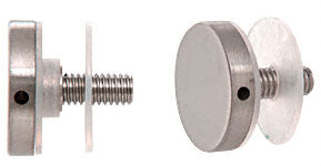 "Brushed Stainless Cap Assembly for 1"" Diameter Standoffs"