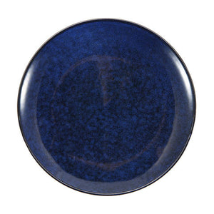 Navy Glazed Side Plate