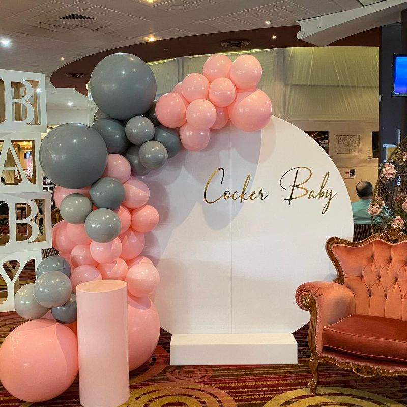 Acrylic Backdrop Party Package