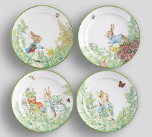 Load image into Gallery viewer, Peter Rabbit Garden Plates