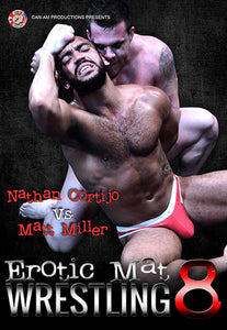 Erotic Mat Wrestling 8 DVD