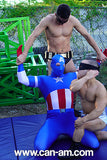 Captain USA vs The Dastardly Duo