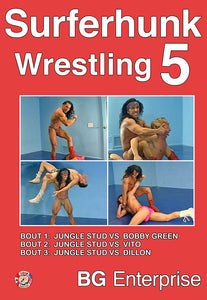 SURFERHUNK WRESTLING 5 DVD
