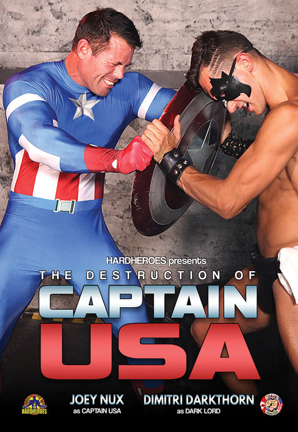 The Destruction Of Captain USA