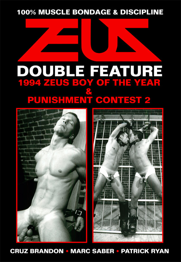 1994 ZEUS BOY OF YEAR & PUNISHMENT CONTEST  TWO DVD