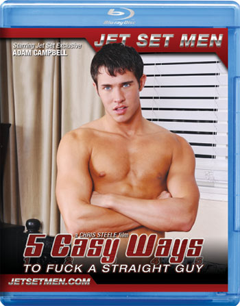 5 Easy Ways To Fuck A Straight Guy / Blu-Ray