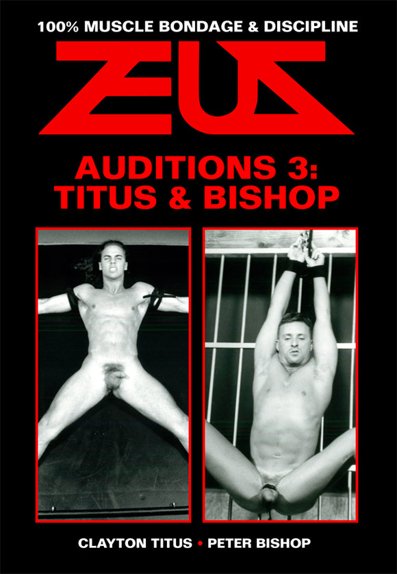 AUDITIONS THREE DVD