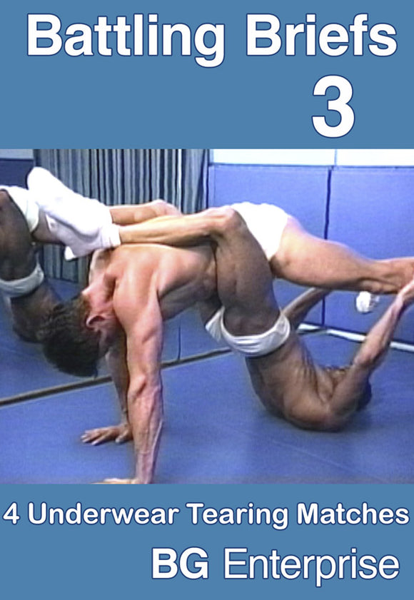 BATTLING BRIEFS 3 DVD