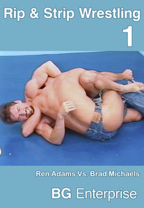 BG'S RIP AND STRIP WRESTLING 1 DVD