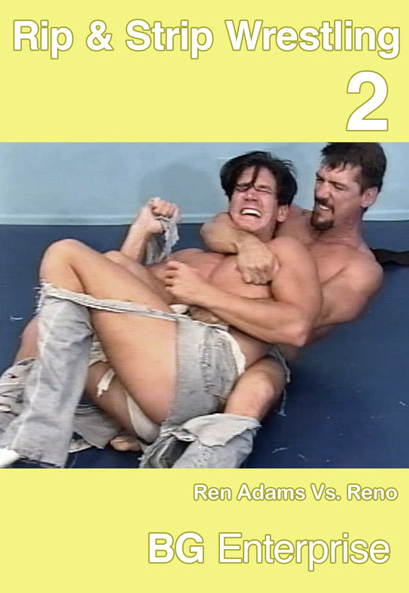 BG'S RIP AND STRIP WRESTLING 2 DVD