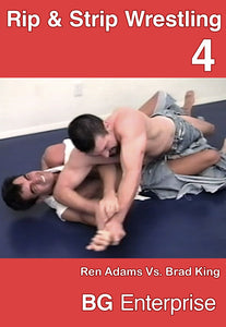 BG'S RIP AND STRIP WRESTLING 4 DVD