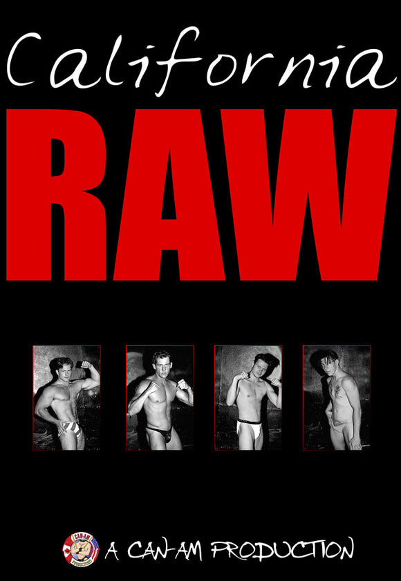 CALIFORNIA RAW DVD