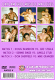 CAN-AM PRO MUSCLE MATCHES DVD