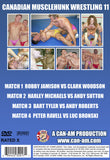 CANADIAN MUSCLEHUNK WRESTLING 11 DVD