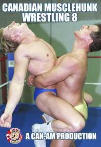 CANADIAN MUSCLEHUNK WRESTLING 8 DVD