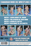 CANADIAN NUDE OIL WRESTLING 4 DVD