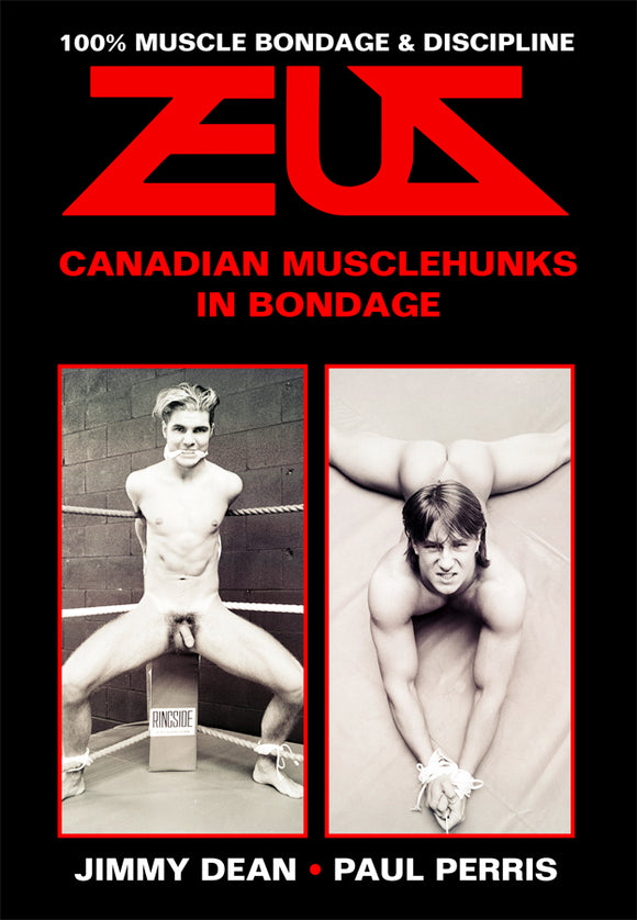 CANADIAN MUSCLEHUNKS IN BONDAGE DVD