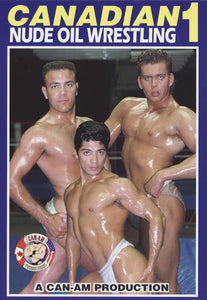 CANADIAN NUDE OIL WRESTLING 1 DVD