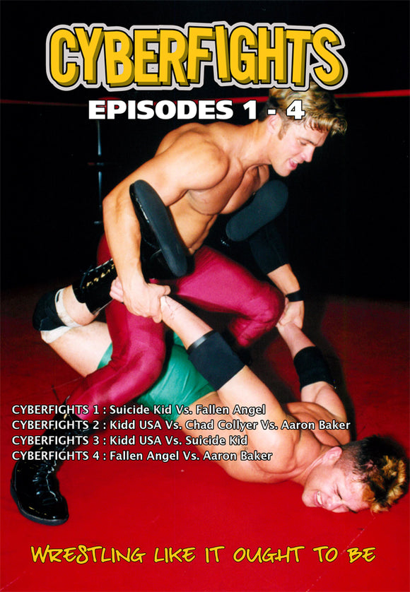 CYBERFIGHTS 1 THROUGH 4 DVD