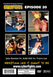CYBERFIGHT 20 - JAKE DAMIEN VS. KIDD USA VS. TRAVIS LEE (DVD)