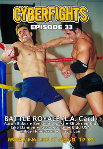 CYBERFIGHT 33  - BATTLE ROYAL 3-DVD