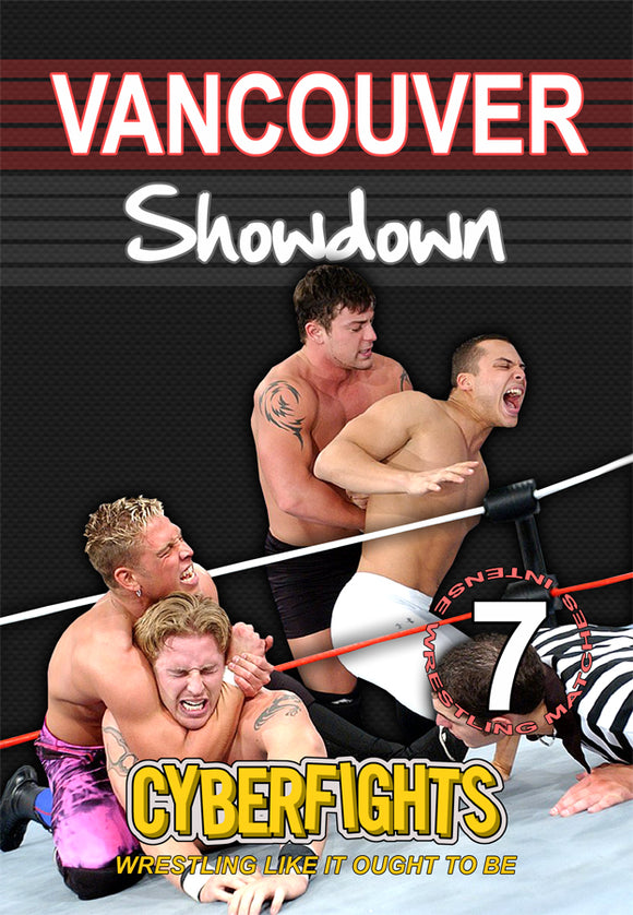 CYBERFIGHTS 91: VANCOUVER SHOWDOWN (DVD)