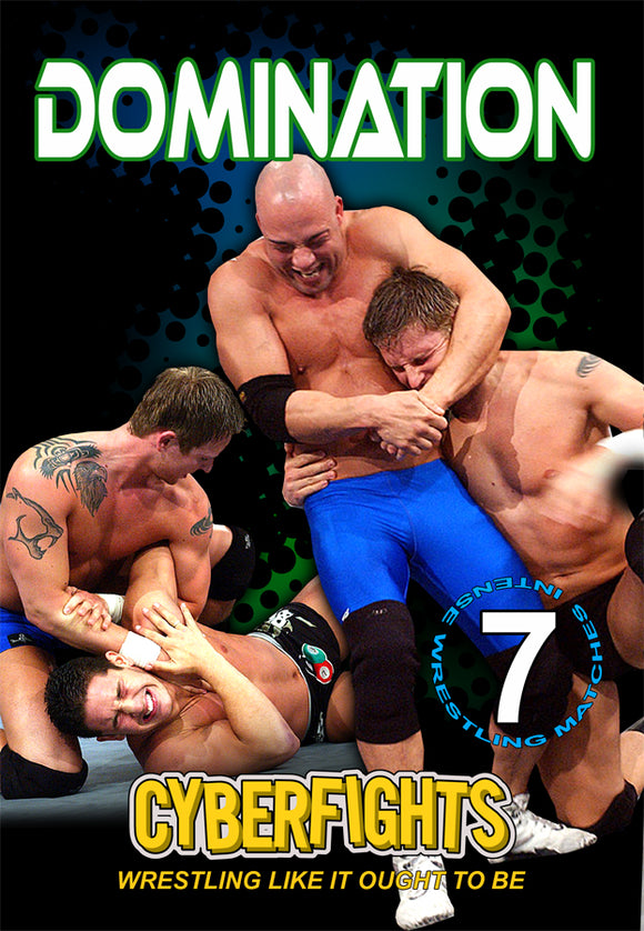 CYBERFIGHTS 96 - DOMINATION (DVD)