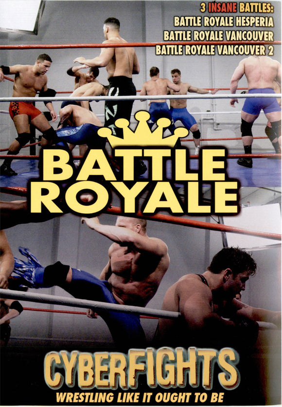 CYBERFIGHTS 104 - BATTLE ROYALE BATTLES (DVD)