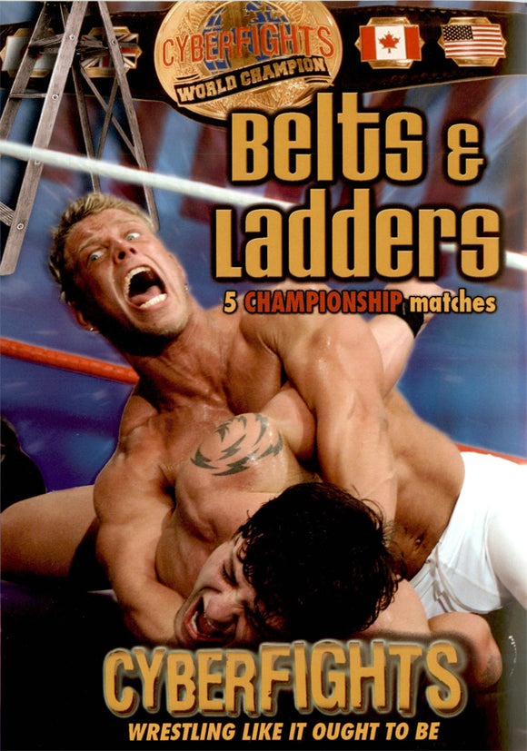 CYBERFIGHTS 94 - BELTS & LADDERS (DVD)