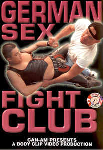 GERMAN SEX FIGHT CLUB DVD