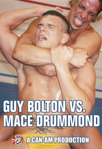 GUY BOLTON VS MACE DRUMMOND DVD