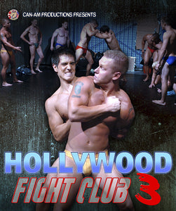 HOLLYWOOD FIGHT CLUB 3 BLU-RAY BDR