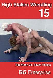 HIGH STAKES WRESTLING 15 DVD