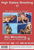 HIGH STAKES WRESTLING 17 DVD