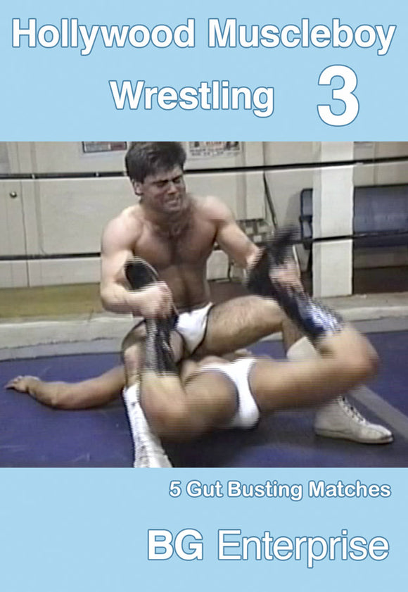 HOLLYWOOD MUSCLEBOY WRESTLING 3 DVD