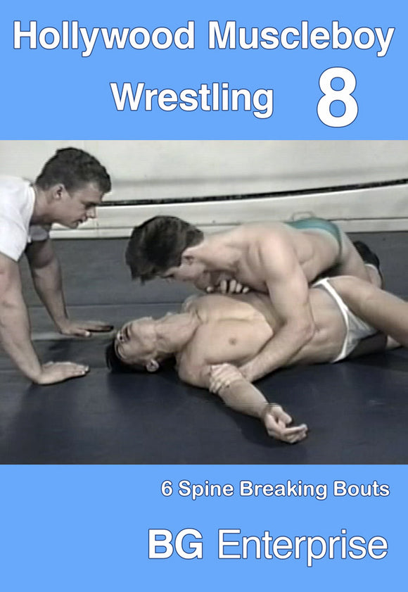 HOLLYWOOD MUSCLEBOY WRESTLING 8 DVD