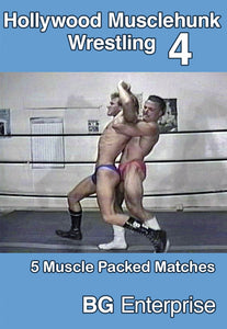 HOLLYWOOD MUSCLEHUNK WRESTLING 4 DVD