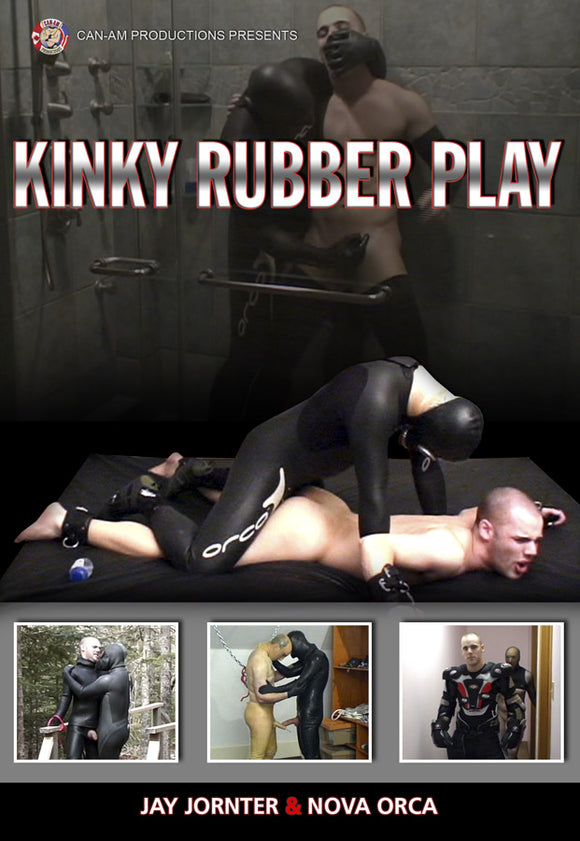 KINKY RUBBER PLAY DVD