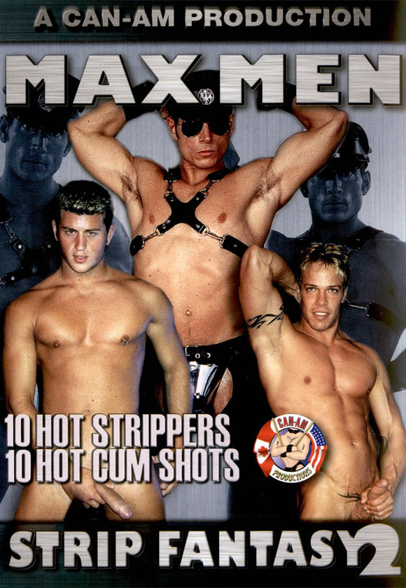 MAX MEN STRIP FANTASY TWO DVD