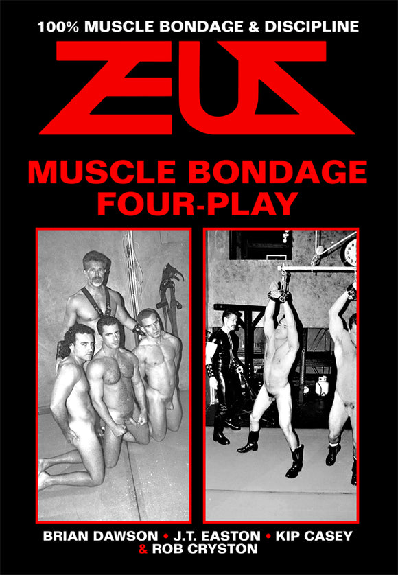 MUSCLE BONDAGE FOUR-PLAY DVD