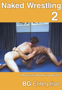 NAKED WRESTLING 2 DVD