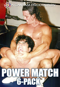 POWER MATCH SIX-PACK DVD