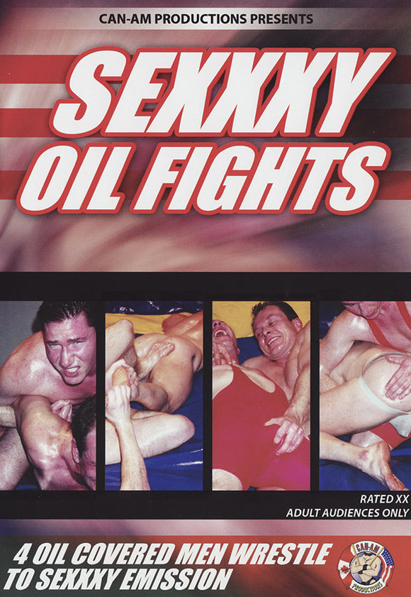 SEXXXY OIL FIGHTS - DVD
