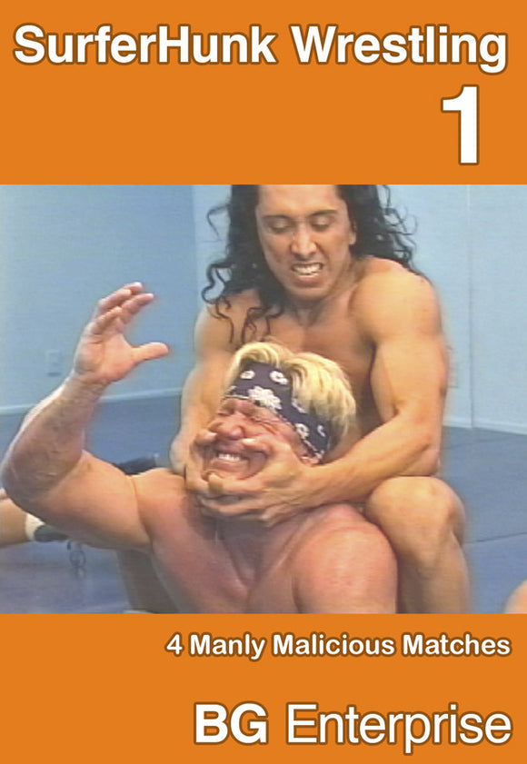 SURFERHUNK WRESTLING 1 DVD